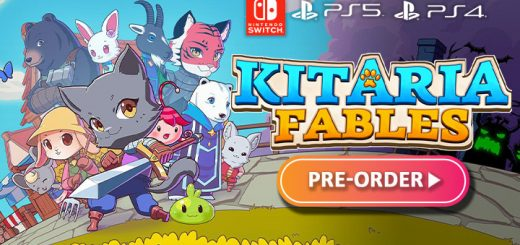 Kitaria Fables, Kitaria, A Tale of Synapse, PQube, Twin Hearts, Switch, Nintendo Switch, PS4, PS5, PlayStation 4, PlayStation 5, Europe, release date, features, price, pre-order, screenshots, trailer