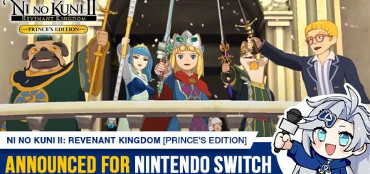 Ni no Kuni 2: Revenant Kingdom — Prince's Edition, Ni no Kuni 2 Revenant Kingdom, Ni no Kuni 2, Ni no Kuni 2 Revenant Kingdom Prince's Edition, Nintendo Switch, Europe, Americas, North America, West, release date, game overview, story, video game, Bandai Namco, Level 5