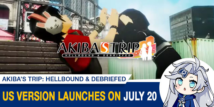 Akiba's Trip: Hellbound & Debriefed, Akiba's Trip, PS4, PlayStation 4, Nintendo Switch, Switch, Japan, gameplay, features, release date, price, trailer, screenshots, Acquire, AKIBA'S TRIP ファーストメモリー, update, US