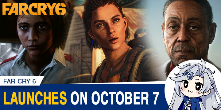 Far Cry, Far Cry 6, Ubisoft, PlayStation 4, Xbox One, PlayStation 5, Xbox Series X, PS4, PS5, XONE, XSX, gameplay, features, release date, price, trailer, screenshots, US, Europe, Japan, update