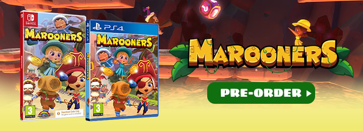 Marooners, The Marooners, Funbox Media Switch, Nintendo Switch, PS4, PlayStation 4, Europe, release date, features, price, Physical Disc, Code in a Box, pre-order, screenshots