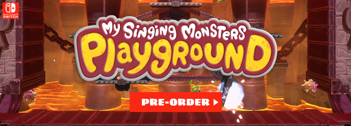 My Singing Monsters Playground, Switch, Nintendo Switch, Europe, release date, features, price, Physical edition, pre-order, screenshots, trailer, My Singing Monsters Switch