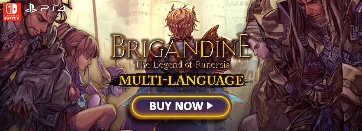 Brigandine: The Legend of Runersia, Brigandine, PlayStation 4, Nintendo Switch, PS4, Switch, Europe, gameplay, features, release date, price, trailer, screenshots, Standard Edition, Collector's Edition, update