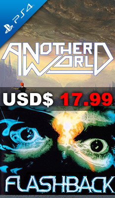 Another World / Flashback Double Pack  Maximum Games