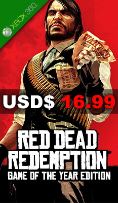 Red Dead Redemption: Game of the Year Edition  Rockstar Games