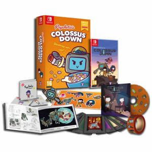 Colossus Down, Tesura Games, Colossus Down [Destroy'Em Up Edition], Psychotic's Colossus Down, Switch, Nintendo Switch, PS4, PlayStation 4, Colossus Down Destroy Em Up Edition, release date, features, screenshots, pre-order now, Europe, North America, US, EU