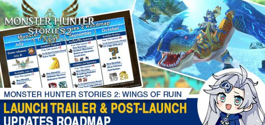 Monster Hunter Stories 2: Wings of Ruin, Monster Hunter Stories II, Monster Hunter Stories 2 Wings of Ruin, Switch, Nintendo Switch, release date, features, screenshots, pre-order now, Europe, Japan, Asia, EU, Capcom, Monster Hunter 2