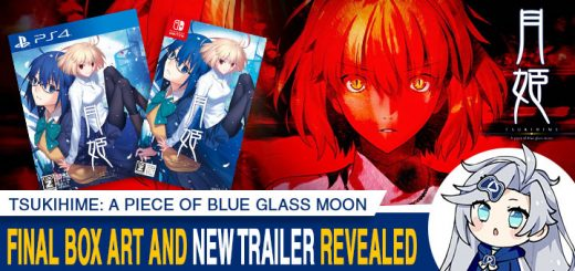 Tsukihime: A Piece of Blue Glass Moon, Tsukihime A piece of blue glass moon, Tsukihime -A Piece of Blue Glass Moon-, PS4, Nintendo Switch, Switch, PlayStation 4, Japan, Standard Edition, Limited Edition, Aniplex, physical release, pre-order, price, release date, Type-Moon, news, update