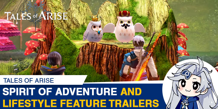 Tales of Arise, PS4, XONE, PlayStation 4, Xbox One, features, trailer, price, pre-order, Bandai Namco, US, North America, Europe, Australia, Asia, news, update, Lifestyle Features Trailer, Spirit of Adventure Trailer