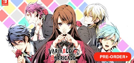 Variable Barricade, Variable Barricade NS, Variable Barricade New Stage, Nintendo Switch, Switch, pre-order, trailer, features, teaser, screenshots, Europe, US, North America, Aksys Games, Ideal Factory, Otome