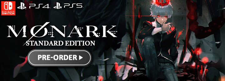 Monark, Lancarse, FuRyu, Monark Deluxe Edition, Limited Edition, Standard Edition, Monark Limited Edition, Monark Collector's Edition, NIS America, PlayStation 5, PlayStation 4, PS5, PS4, Nintendo Switch, Switch, release date, game overview, pre-order, US, North America, Japan, Asia, price, trailer, screenshots, features, モナーク