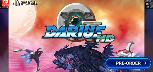 G-Darius HD, G-Darius, G-Darius Remaster, G-Darius Remastered, G-Darius Remake, PS4, PlayStation 4, Switch, Nintendo Switch, Europe, gameplay, features, release date, price, trailer, screenshots, Pre-order, ININ Games, Taito