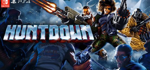 Huntdown, PlayStation 4, Nintendo Switch, Switch, PS4, Europe, Japan, Clear River Games, gameplay, features, release date, price, trailer, screenshots
