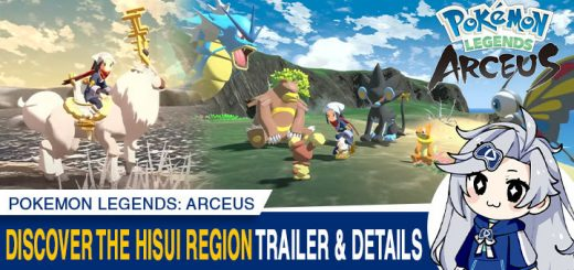 Pokemon, Pokemon Legends, Pokemon Legends: Arceus, Europe, Nintendo Switch, Switch, gameplay, features, release date, price, trailer, screenshots, Nintendo, US, update, Discover the Hisui Region