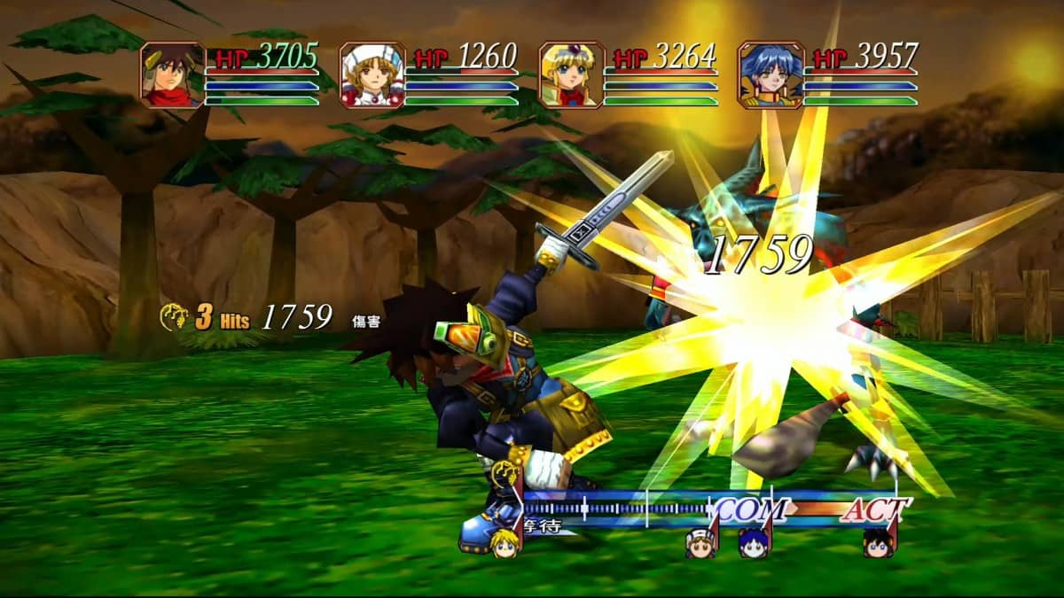 Grandia HD Collection (English), Grandia HD Collection, Grandia, Grandia II, Switch, Nintendo Switch, Asia, features, gameplay, release date, price, screenshots, Physical edition, English, Asia English, English Release