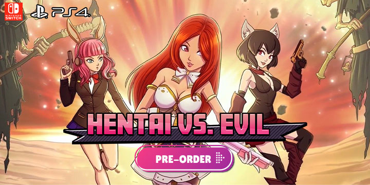 Hentai vs. Evil, Hentai vs Evil, Funbox Media, EastAsiaSoft, Europe, features, gameplay, release date, price, trailer, screenshots, Physical edition, pre-order