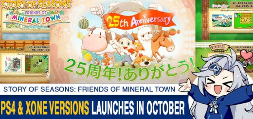 STORY OF SEASONS: Friends of Mineral Town, Harvest Moon: Friends of Mineral Town Remake, Harvest Moon, Harvest Moon: Friends of Mineral Town, Nintendo Switch, Switch, Marvelous, gameplay, features, release date, price, trailer, screenshots, Western release, update, Europe, Japan, PS4, XONE, PlayStation 4, Xbox One