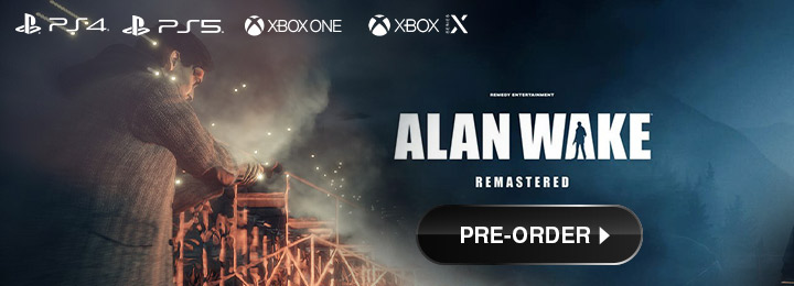 Alan Wake Remastered, Alan Wake Remaster, Alan Wake Remake, PS4, PS%, PlayStation 4, PlayStation 5, XONE, Xbox One, XSX, Xbox Series, US, North America, Europe, Japan, gameplay, release date, price, trailer, screenshots, Epic Games Publishing, Remedy Entertainment