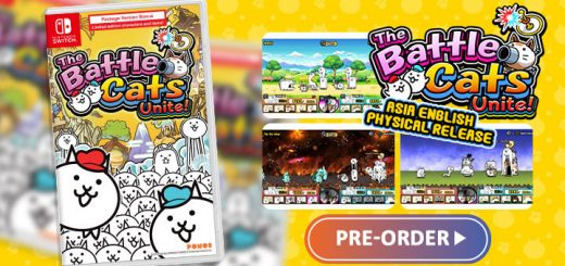 The Battle Cats Unite, Nintendo Switch, Switch, release date, trailer, screenshots, pre-order now, Japan,english