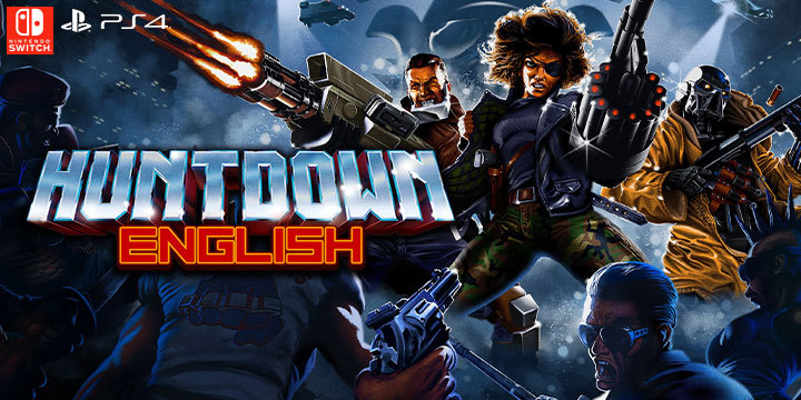 Huntdown JP Release With English Support Launches This Month