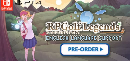 RPGolf Legends (English), RPG Golf Legends, Golf Legends, RPGolf Legends, Kemco, ArticNet, Nintendo Switch, Switch, PS4, PlayStation 4, release date, game overview, pre-order, Japan, price, trailer, screenshots, features