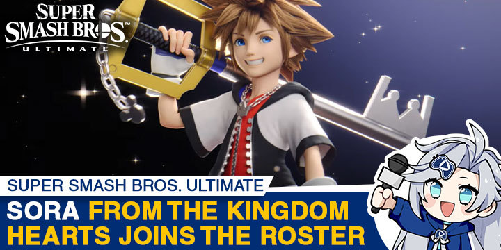 Super Smash Bros. Ultimate Sora From Kingdom Hearts Joins This Month