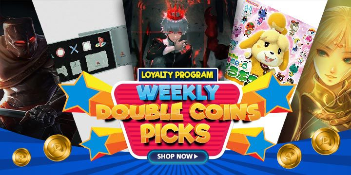WEEKLY DOUBLE COINS PICKS: Fall of Light: Darkest Edition, Sony Consoles Pin Set