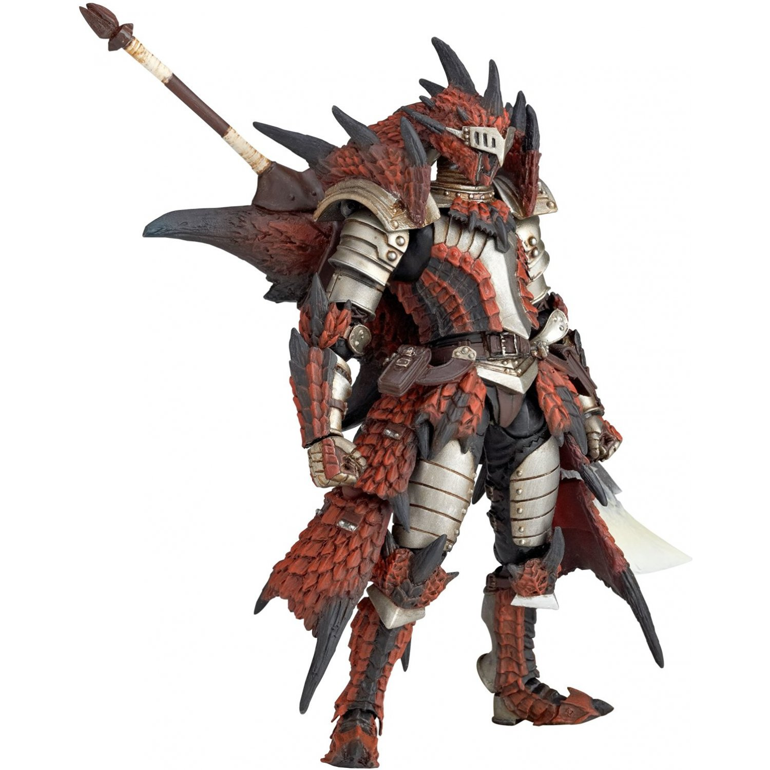 Revoltech Series No 123 Monster Hunter Hunter Swordsman Laeus Our iceborne armor and weapons guide outlines what's. hunter swordsman laeus