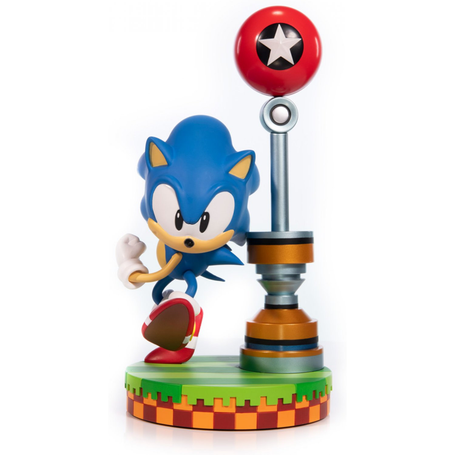 "Sonic The Hedgehog Diamond Toys Gallery Sonic Exclusive PVC Statue 9/"" OCT178336"
