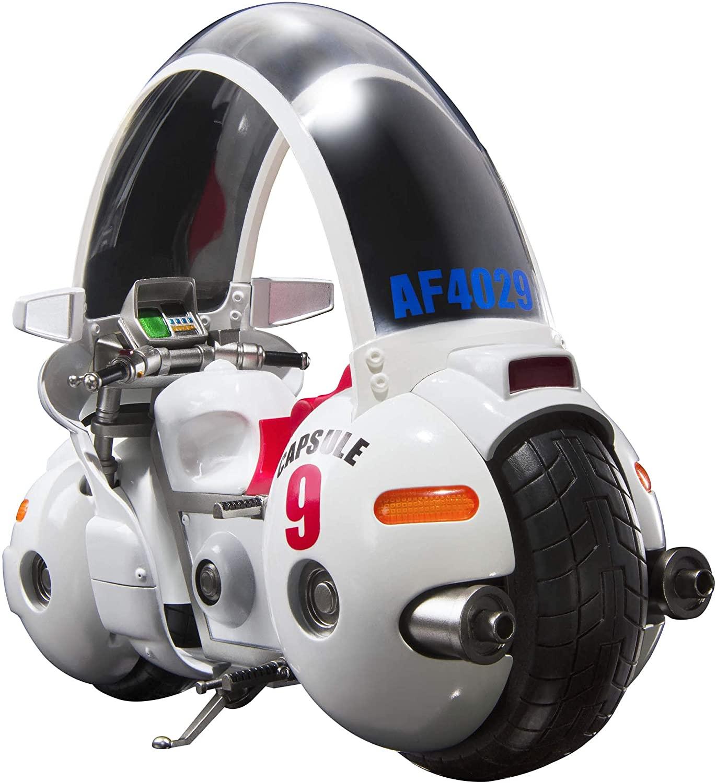 S H Figuarts Dragon Ball Bulma S Motorcycle Hoipoi Capsule No 9