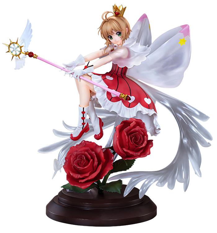 NEW! Cardcaptor Sakura Clear Card Ed Special Figure Rocket Beat Figurine FurRyu
