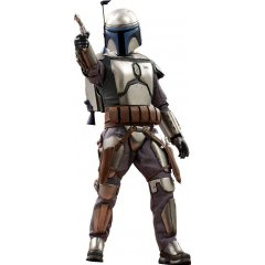 MOVIE MASTERPIECE STAR WARS EPISODE II ATTACK OF THE CLONES 1/6 SCALE COLLECTIBLE FIGURE: JANGO FETT Hot Toys