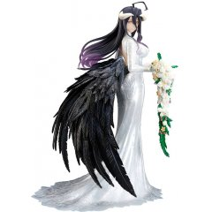OVERLORD 1/7 SCALE PRE-PAINTED FIGURE: ALBEDO WEDDING DRESS VER. FuRyu