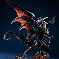 ART WORKS MONSTERS YU-GI-OH! DUEL MONSTERS PRE-PAINTED FIGURE: RED EYES BLACK DRAGON Mega House