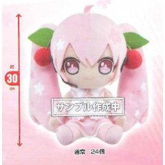 SAKURA MIKU BIG PLUSH (NORMAL) DOUBLE COINS Taito