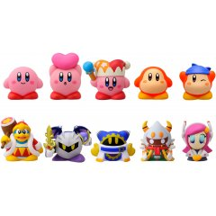 KIRBY'S DREAM LAND SOFT VINYL PUPPET MASCOT (SET OF 10 PIECES) Ensky