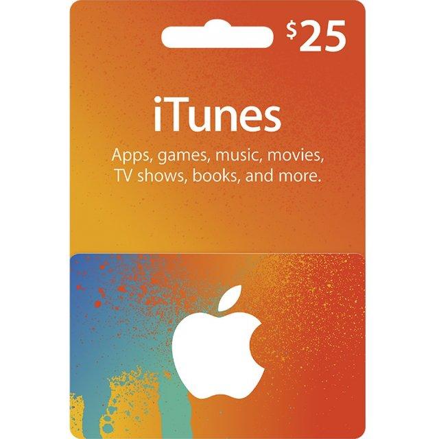 Itunes 25 Usd Gift Card Us Account Digital