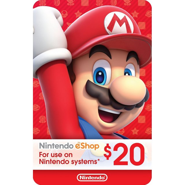 Nintendo eShop Card 20 USD | USA Account
