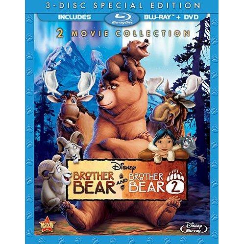 Brother Bear Brother Bear 2 Blu Ray Dvd