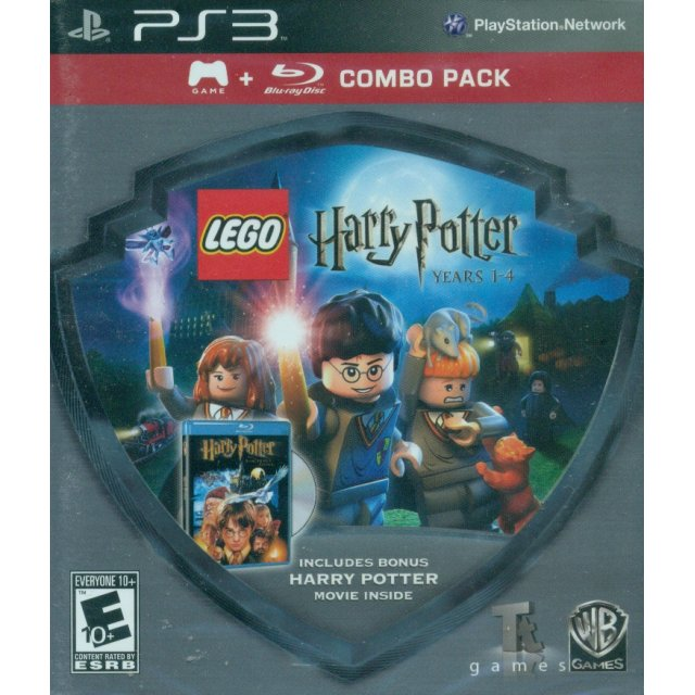Lego Harry Potter Years 1 4 Movie Combo Pack