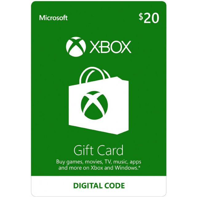 Xbox Gift Card USD 20 | US Account