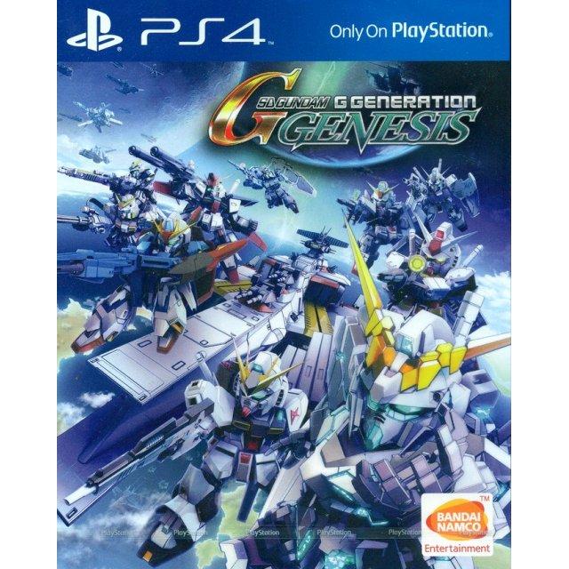 SD Gundam G Generation Genesis (English Subs)