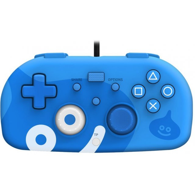Hori Wired Controller Light for PlayStation 4 [Dragon Quest Slime Edition] (Blue)