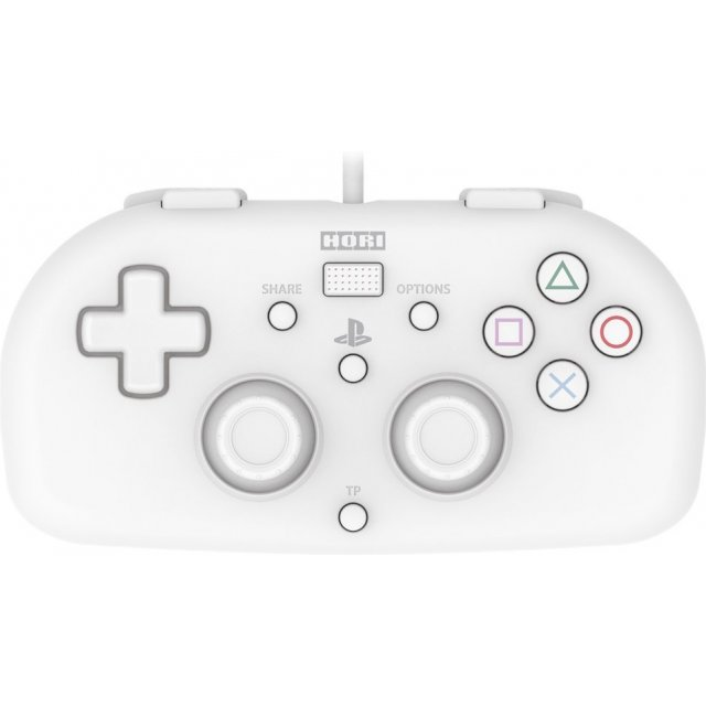 Hori Wired Controller Light for PlayStation 4 (White)