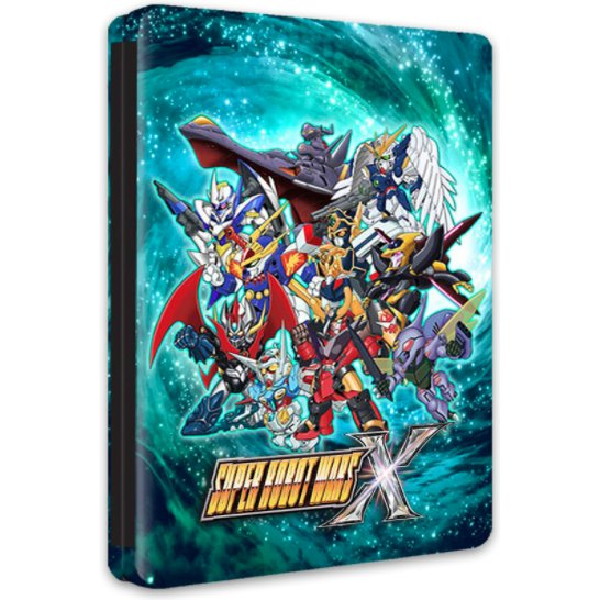 Super Robot Wars X (English Subs) [Steelbook Edition]