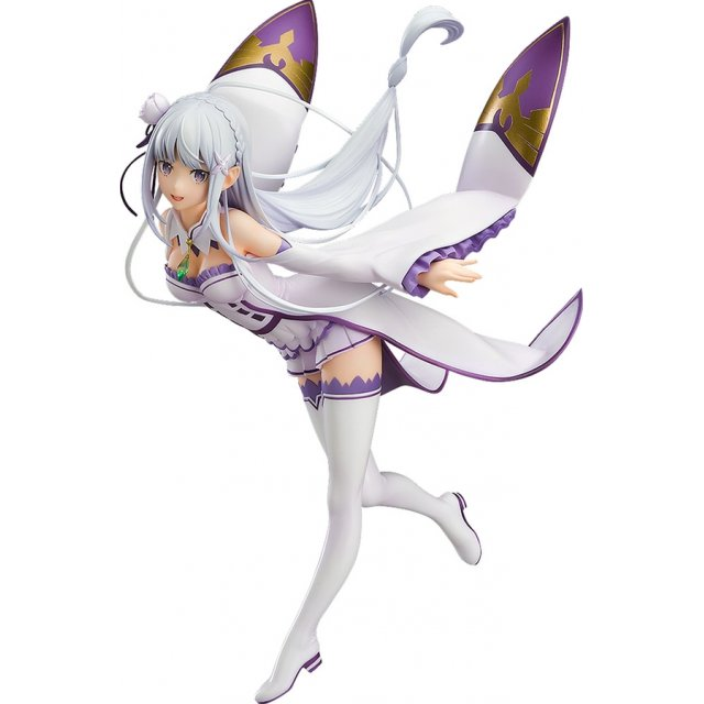 Re:ZERO Starting Life in Another World 1/7 Scale Pre-Painted Figure: Emilia