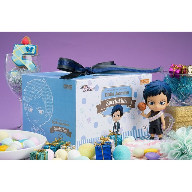 Nendoroid No. 1079 Kuroko's Basketball: Daiki Aomine Special Box [GSC Online Shop Exclusive Ver.]