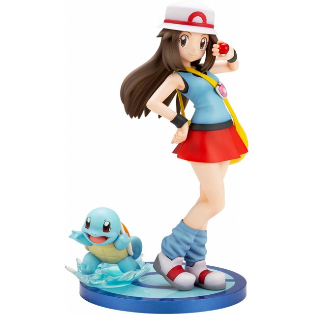 ARTFX J Pokemon Series 1/8 Scale Pre-Painted Figure: Leaf with Squirtle