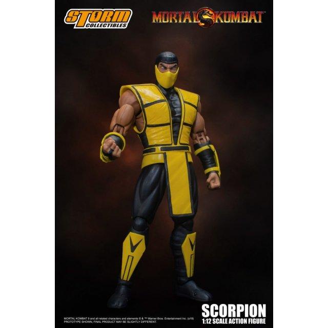 Mortal Kombat 1/12 Scale Pre-Painted Action Figure: Scorpion Ver.2