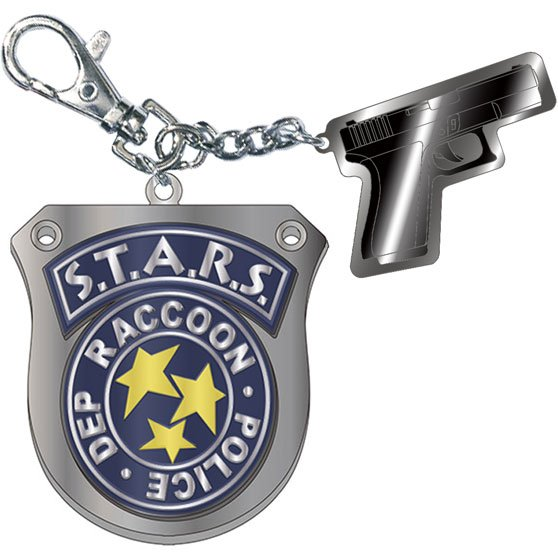 Resident Evil 3 Metal Keychain: S.T.A.R.S.